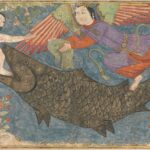 Jonah and the Whale from a Jami al-Tavarikh
