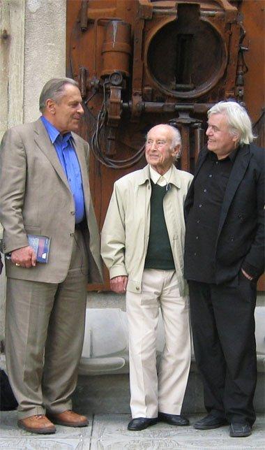 Stanislav Grof, Albert Hoffmann, HR Giger, side by side